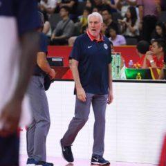 Basket – Mondial (H) – Gregg Popovich après la défaite des États-Unis face aux Bleus en quarts du Mondial: «C'est la meilleure équipe française que j'ai eu l'occasion d'observer»