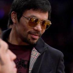Boxe – Nouvelles rassurantes pour l'oeil de Manny Pacquiao