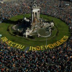 Catalogne: forte baisse de la participation à la manifestation annuelle des indépendantistes