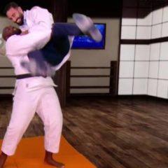 CM 2018 – WTF – Adil Rami tient son pari et combat Teddy Riner