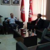 Tabboubi reçoit une délégation du parti Al Masar