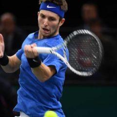 Tennis – ATP – Doha – Doha: Corentin Moutet au deuxième tour, Adrian Mannarino éliminé