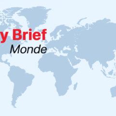Monde- Daily brief du 28 septembre 2021: Des pannes d'électricité massives en Chine